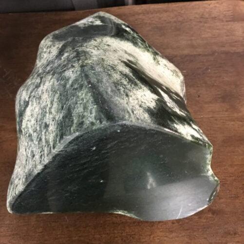 "#J3 Wyoming Jade ""Dragon's Egg #1"" Sculpture"