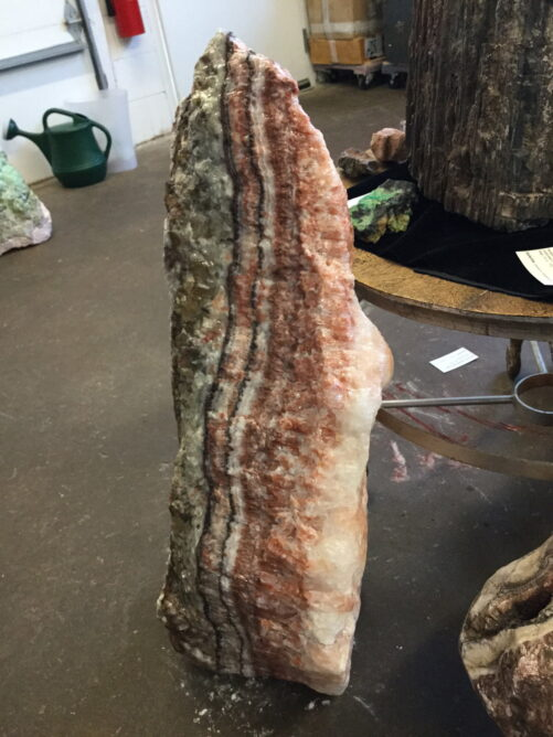 #RC2 Huge Rare Rainbow Calcite Boulder