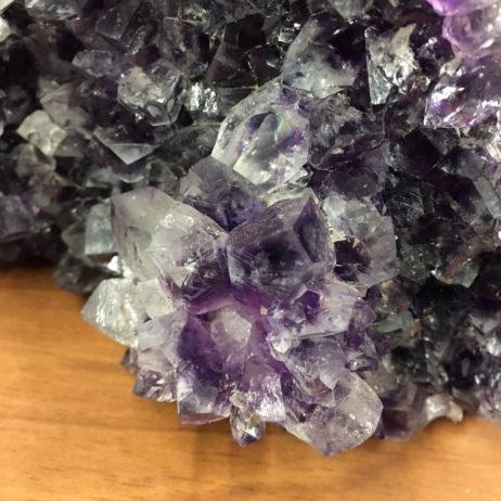 Amethyst Geode with Quartz