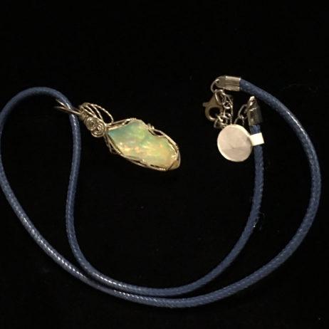 Welo Ethiopian Fire Opal Necklace
