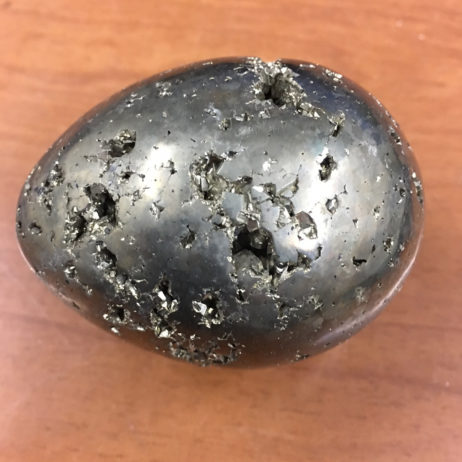 Pyrite Egg with Stand
