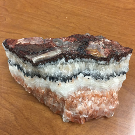 Rainbow Calcite Display Specimen