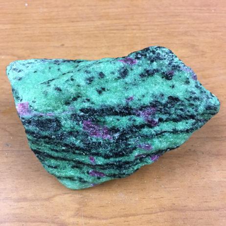 Ruby In Zoisite Rough Specimen - Healing Stone