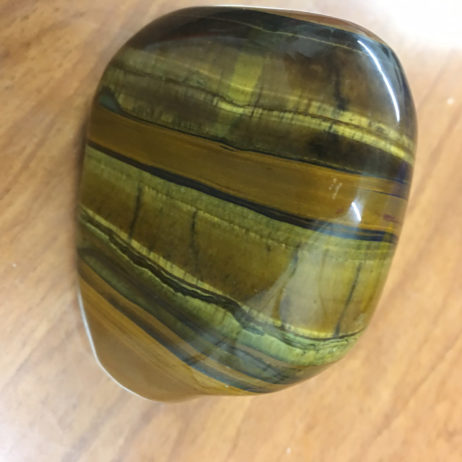 Tiger Iron Mineral Specimen