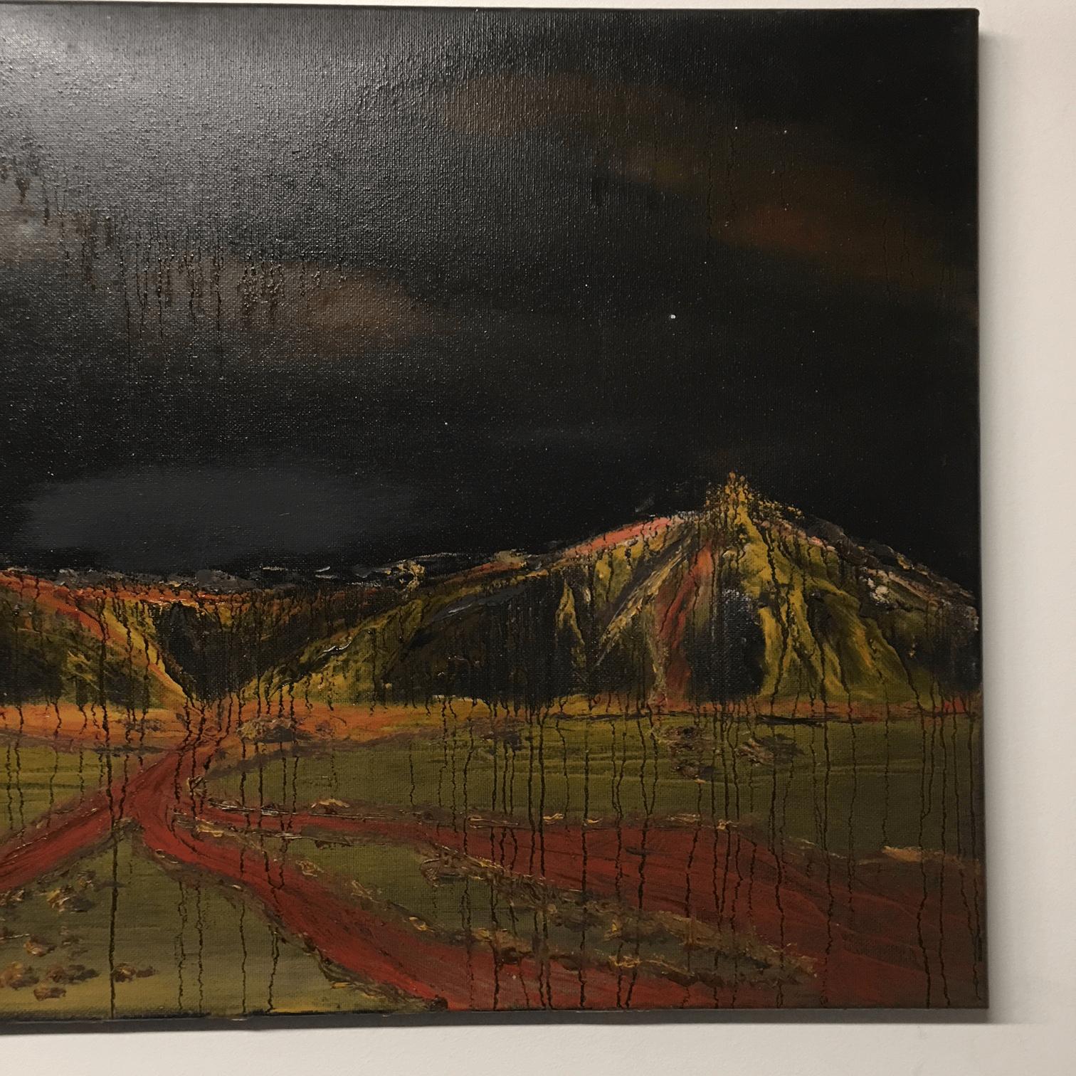 "#PAINT10 ""Venus Rising"" Oil on Canvas"