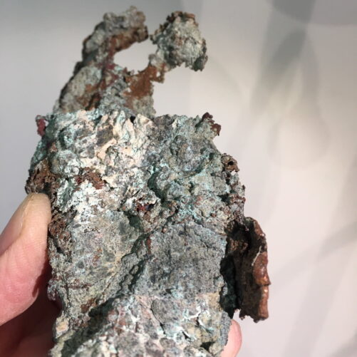 #C4 Copper Crystals on Copper Vein from Michigan Upper Peninsula