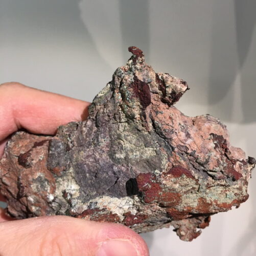 #C3 Copper Crystals on Vein from Michigan Upper Peninsula