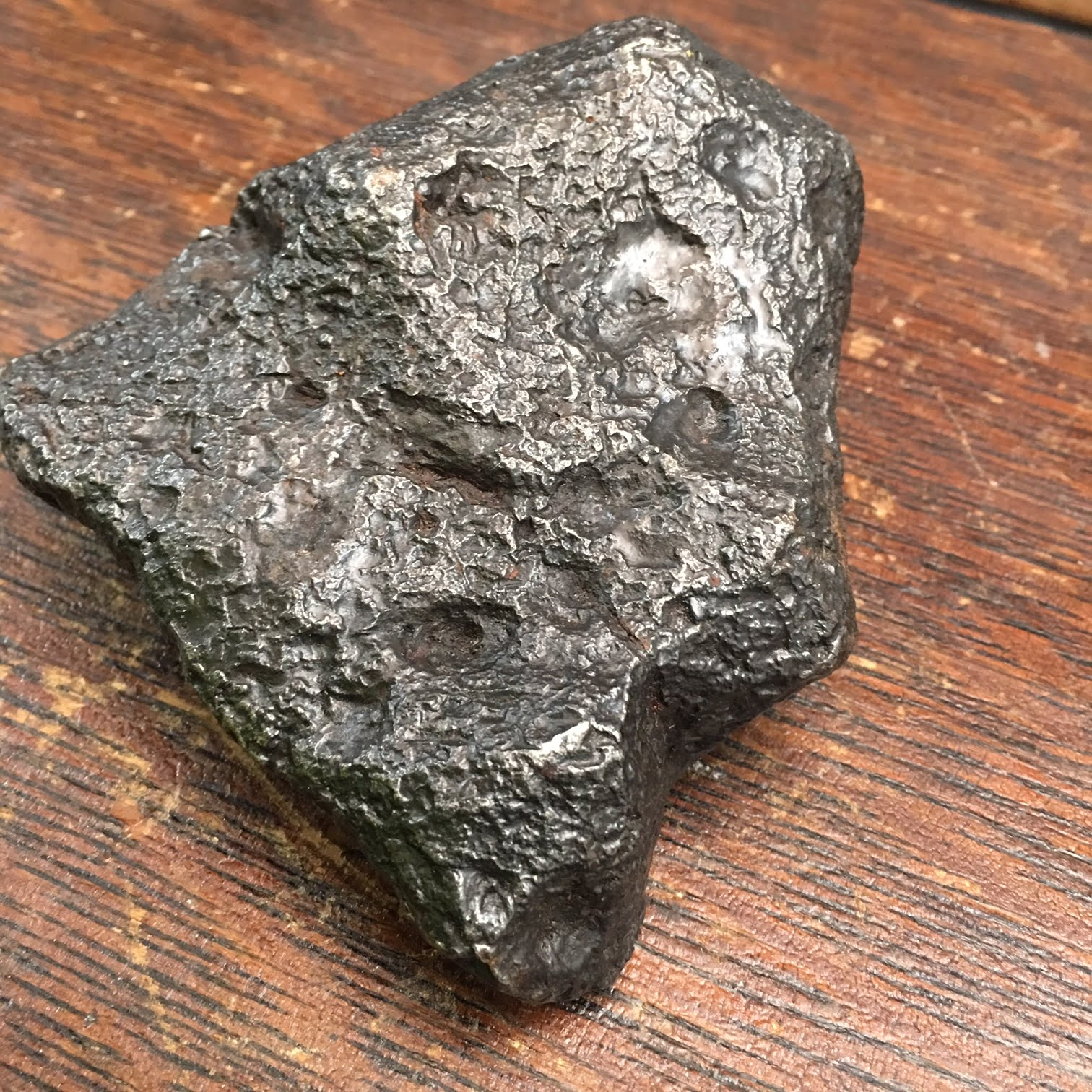 #MCDC1 Huge Beautiful Iron Campo Del Cielo Meteorite from Argentina 2091 g or 4 lbs 9.75 oz