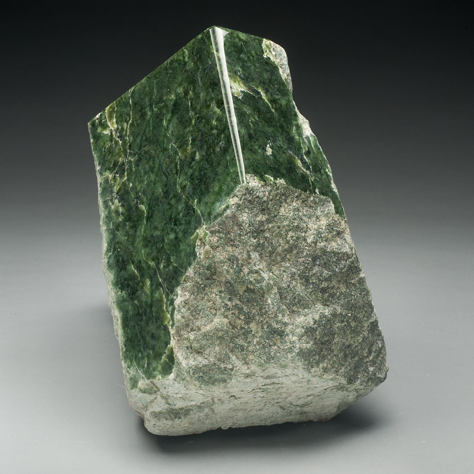 #J1 Dragon's Claw Sculpture of Rare Wyoming Jade