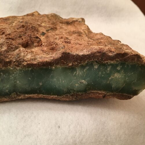 #CHRY4 Chrysoprase - Boulder for Lapidary, Display or Crystal Healing