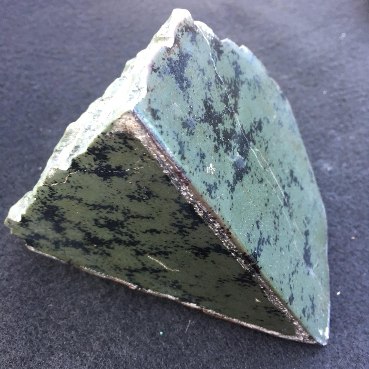#J2 Wyoming Jade Sculpture