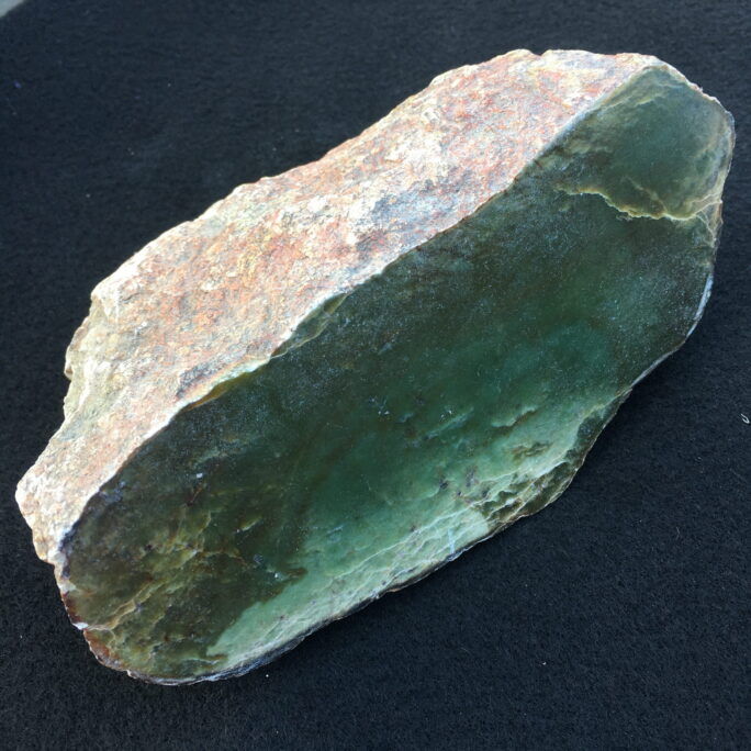 #J5 Wyoming Jade 1/2 Natural Boulder Display Specimen