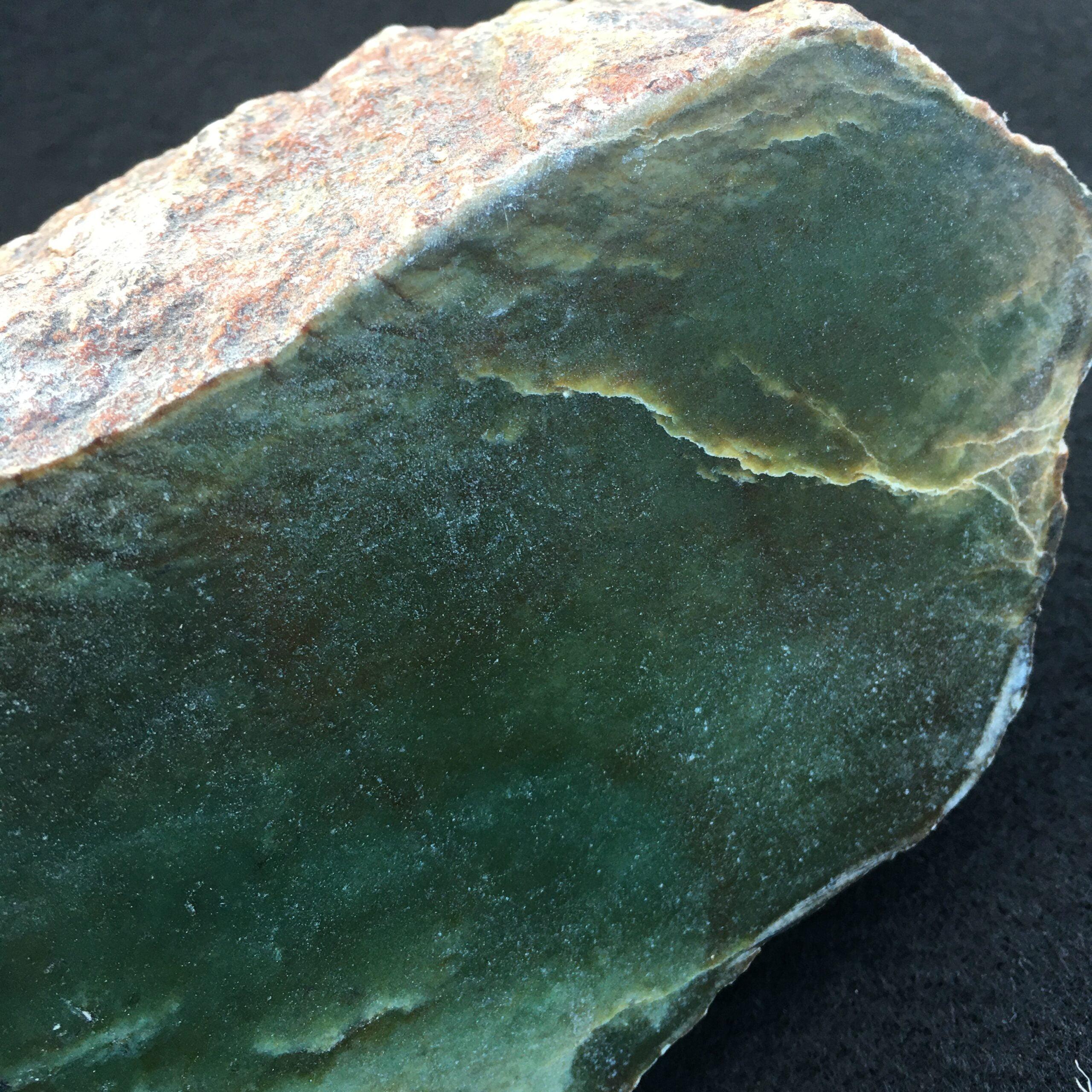 #J5 Wyoming Jade 1/2 Natural Boulder Display Specimen