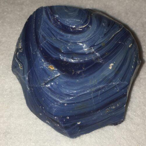 #LEL5 Very Rare Top Quality Leland Blue Slag Glass