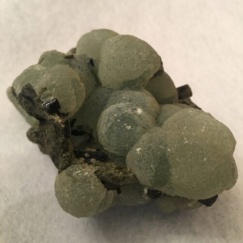 #PREHEP6 Fantastic Prehnite Spheres with  Epidote from Mali - 3.5 inches