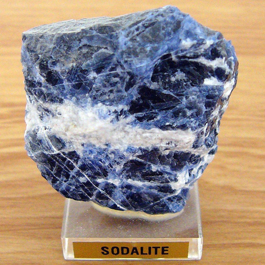 sodalite mineral specimen