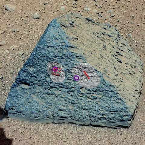 The Jake Rock on Mars