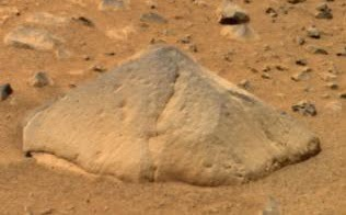 Adirondack - a Martian rock
