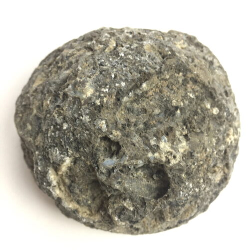 Agate Mineral Nodule Blue White Grey GEODE29-#GEOD29-4