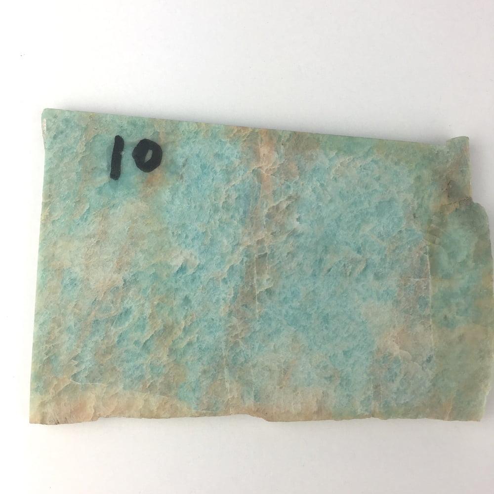 Amazonite Old Stock Slice AMZ3-#AMZ3-2