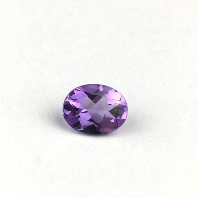 Amethyst Gemstone Oval Shaped AG4-#AG4-1