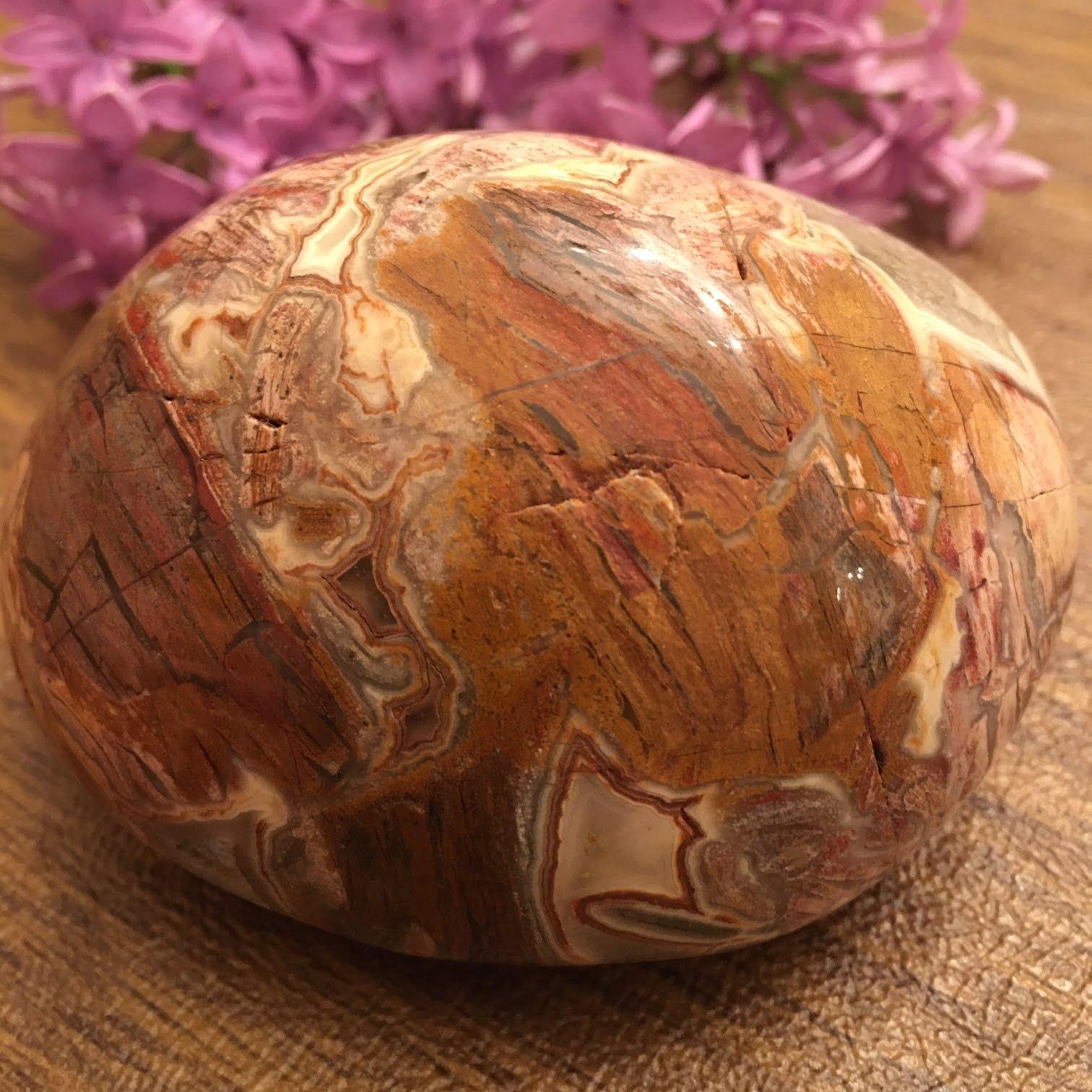 Brecciated Jasper Therapy Stone