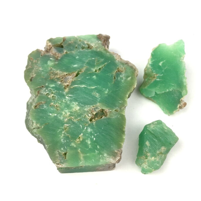 Chrysoprase 3 Pieces CHRY2-#CHRY2-2