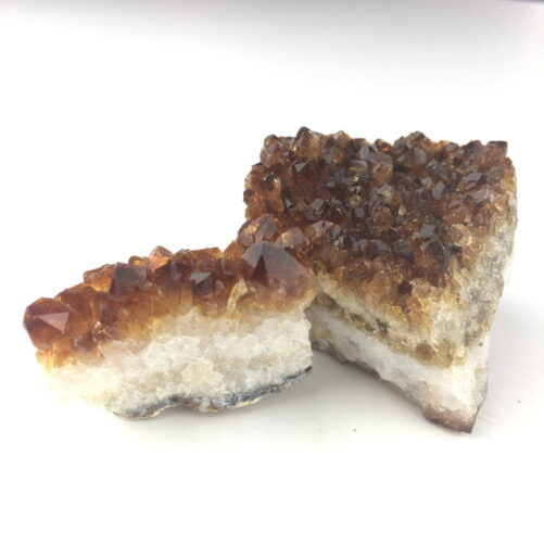 Citine 2 Small Specimens for Desk Bedstand Table Crystal Healing CITR78-#CITR78-1