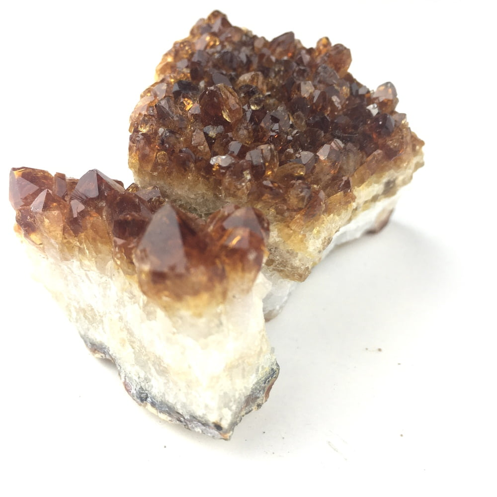 Citine 2 Small Specimens for Desk Bedstand Table Crystal Healing CITR78-#CITR78-2