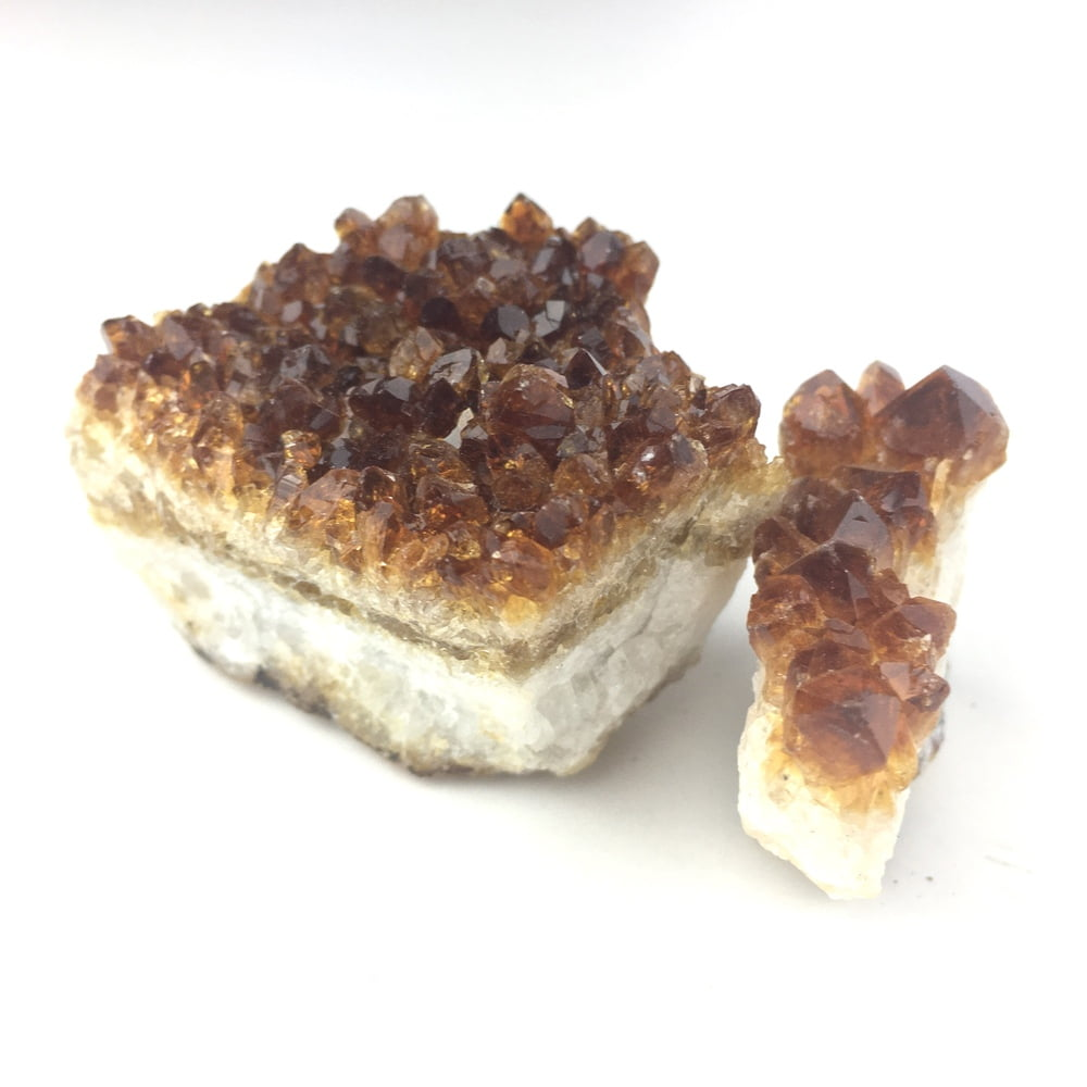 Citine 2 Small Specimens for Desk Bedstand Table Crystal Healing CITR78-#CITR78-3