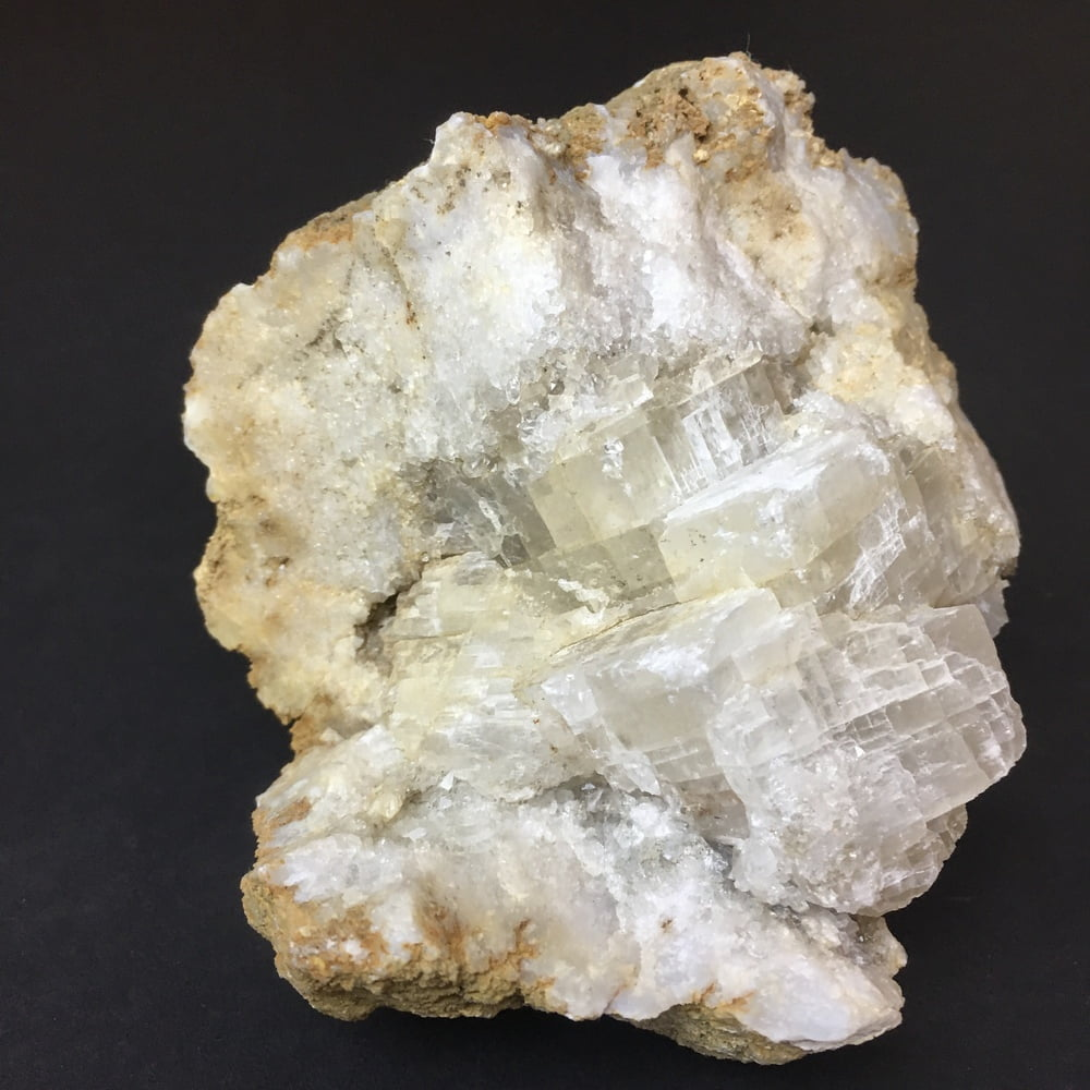 Indiana Geode Filled with Calcite Cubes on Quartz GEOD28-#GEODE28-4