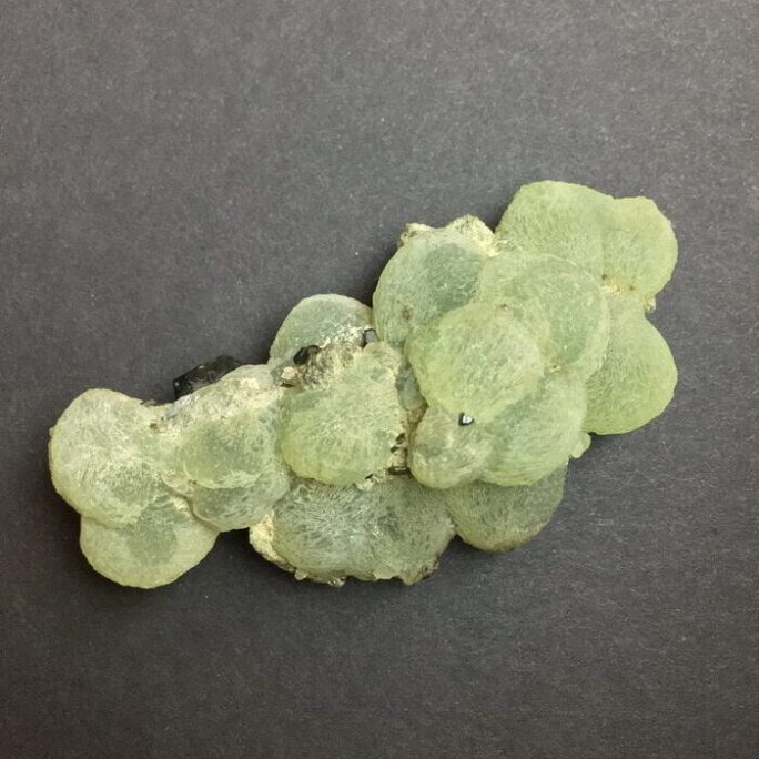 Prehnite Spheres with Epidote from Mail-#PREHEP5-1