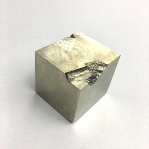 Pyrite Cube In Matrix from Navajun La Rioja Spain PYC16-#PYC16-1