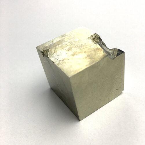 Pyrite Cube In Matrix from Navajun La Rioja Spain PYC16-#PYC16-2