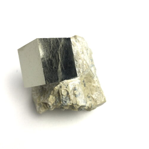 Pyrite Cube In Matrix from Navajun La Rioja Spain PYC19-#PYC19-1
