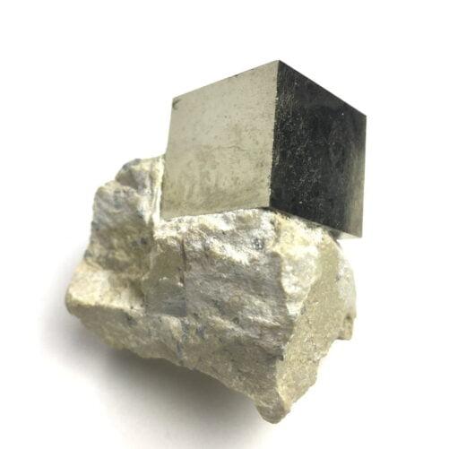 Pyrite Cube In Matrix from Navajun La Rioja Spain PYC19-#PYC19-2