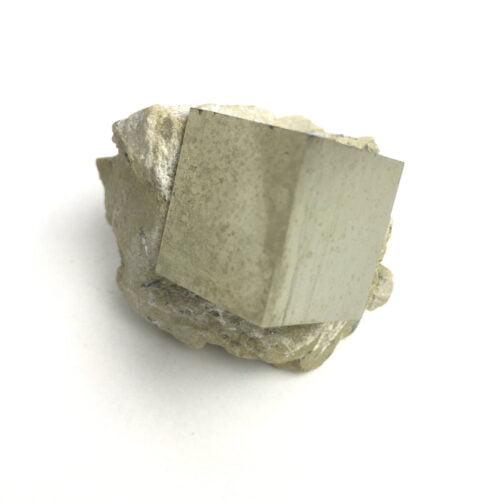 Pyrite Cube In Matrix from Navajun La Rioja Spain PYC19-#PYC19-4