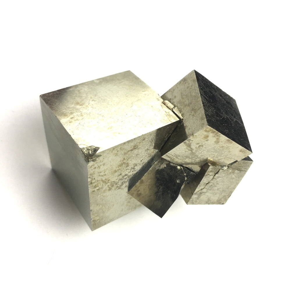 Pyrite Cube In Matrix from Navajun La Rioja Spain PYC5-#PYC5-1