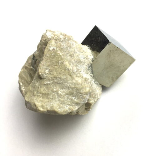 Pyrite Cube in Matrix from Navajun La Rioja Spain PYC12-#PYC12-3