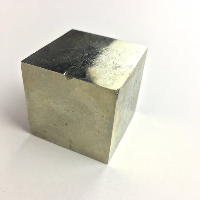 Pyrite Cube in Matrix from Navajun La Rioja Spain PYC14-#PYC14-1