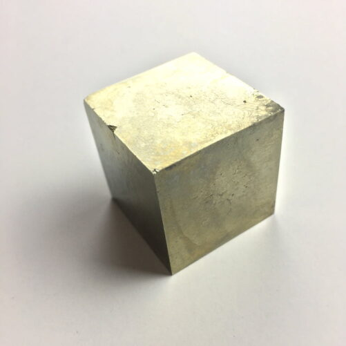 Pyrite Cube in Matrix from Navajun La Rioja Spain PYC14-#PYC14-2