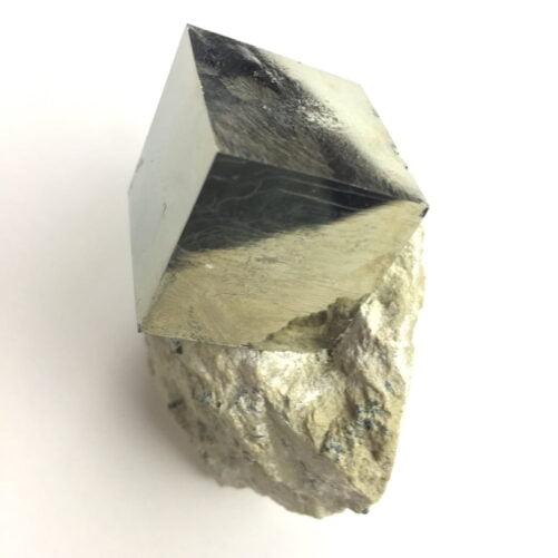 Pyrite Cube in Matrix from Navajun La Rioja Spain PYC3-#PYC3-2