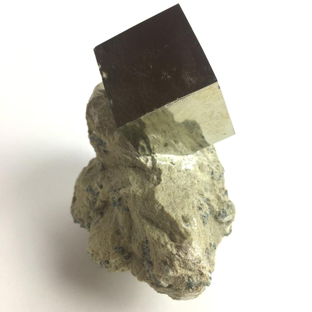 Pyrite Cube in Matrix from Navajun La Rioja Spain PYC3-#PYC3-3