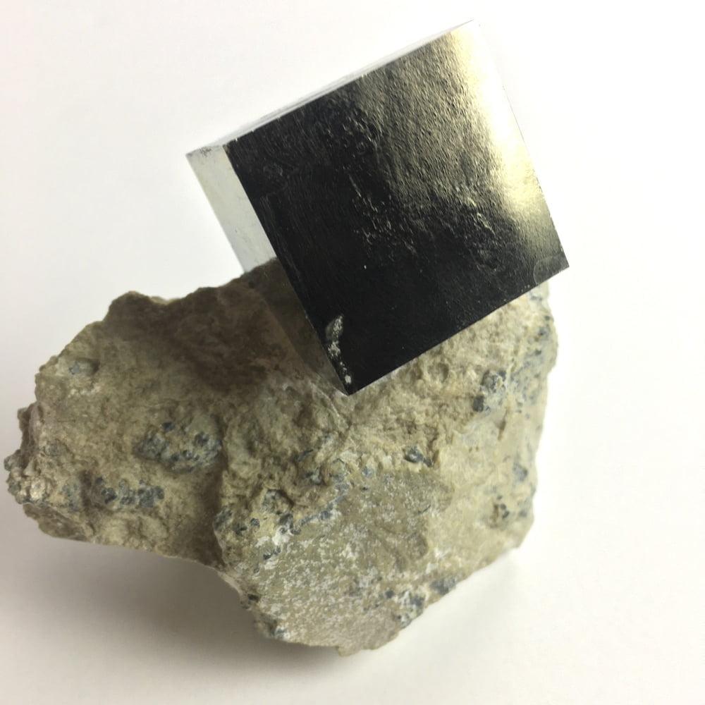 Pyrite Cube in Matrix from Navajun La Rioja Spain PYC3-#PYC3-4