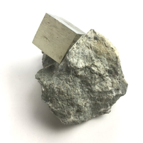 Pyrite Cube on Matrix from Navajun La Rioja Spain PYC2-#PYC2-3