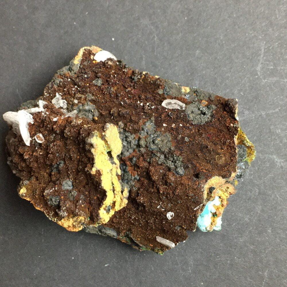 Rosasite Rare Display Specimen from Ojuela Mine Mapimi Durango Mexico ROSA4-#ROSA4-3