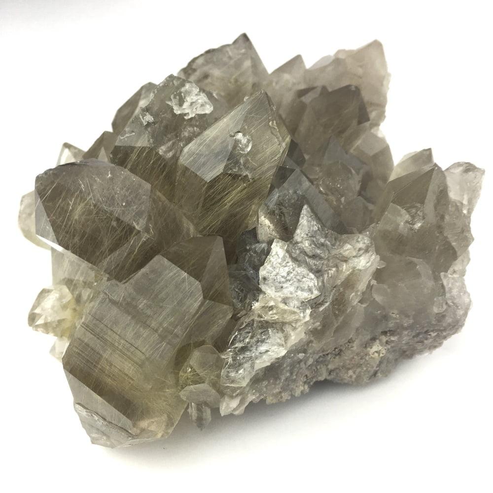Rutilated Quartz Crystal QRUT2-#QRUT2-2