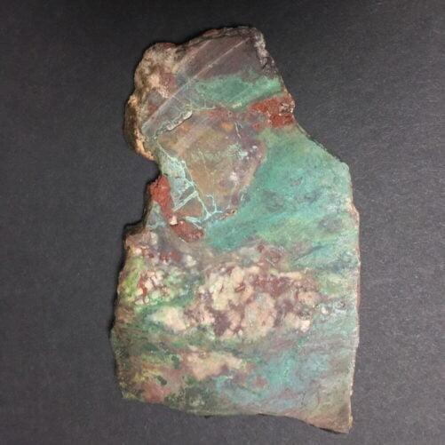 Sonora Sunrise Sunset Slab Slice Chrysocolla Cuprite Metals SC3-#SC3-1