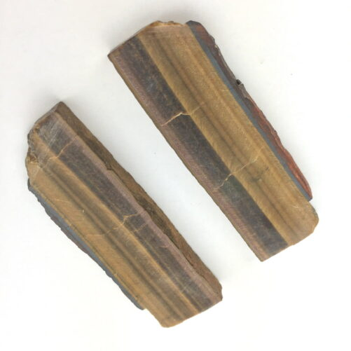 Tiger's Eye 2 Slabs Slices-#TE4-2
