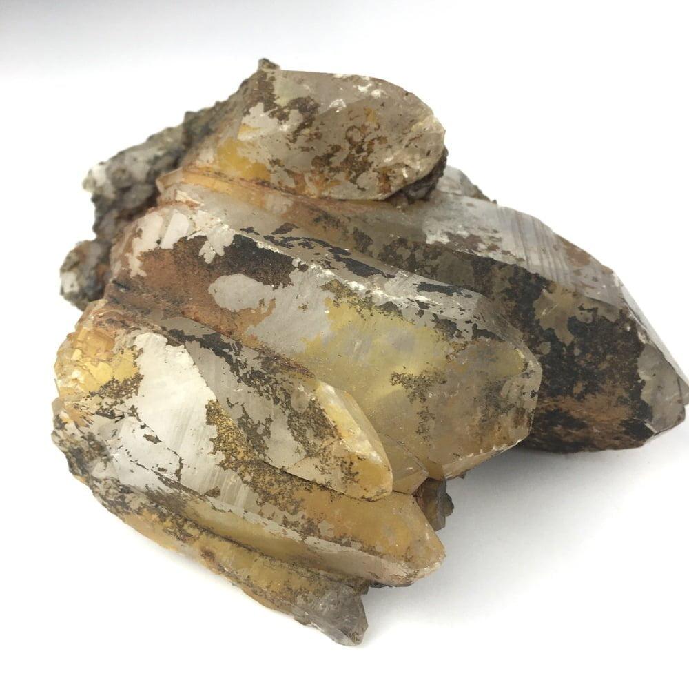 Uncleaned Natural Quartz Crystal Cluster QC7-#QC7-1